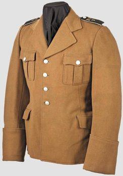 HJ Service Tunic (2nd pattern 1936 version) Obverse