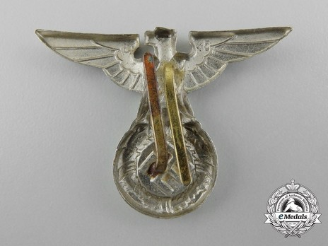 Waffen-SS Metal Cap Eagle Type I Reverse