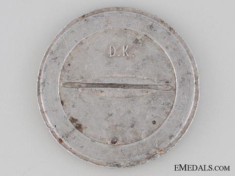 Aluminum Badge Reverse