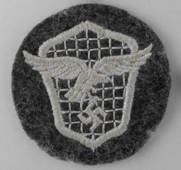 Motorized Support Troops of the Luftwaffe Badge Obverse