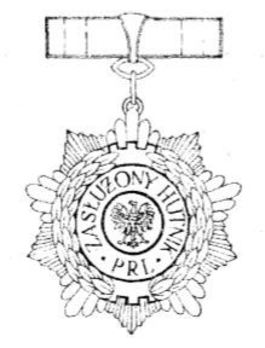 Meritorious Steelworker of the Polish People's Republic Obverse