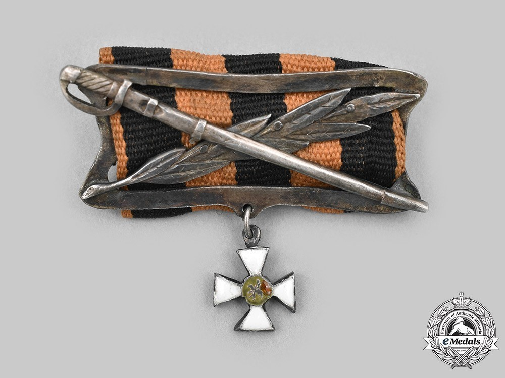 Order+of+st+george%2c+ribbon+clasp+with+miniature%2c+obv