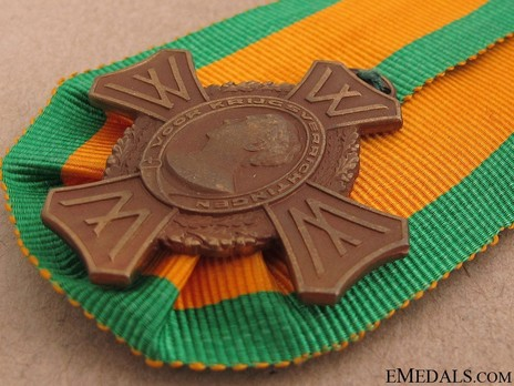 Commemorative War Cross Reverse
