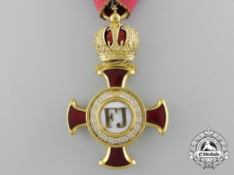 "Merit Cross ""1849"", Type II, I Class Cross (with crown)"