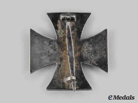 Iron Cross I Class, by R. Souval (unmarked, magnetic) Reverse