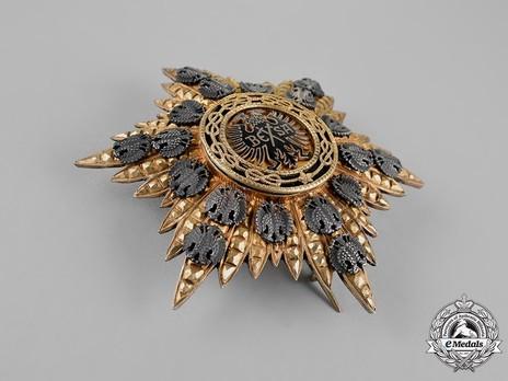 Order of Fidelity, Type II, Grand Cross Breast Star Obverse