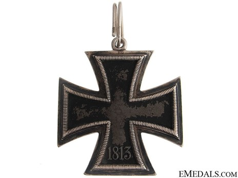 Knight's Cross of the Iron Cross, by Klein & Quenzer (800) Reverse