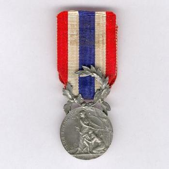 """Silver Medal (stamped """"L COUDRAY,"""" 1936-2013) Obverse"""