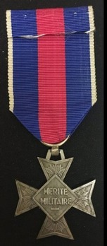 Order of Military Merit, Knight  Reverse
