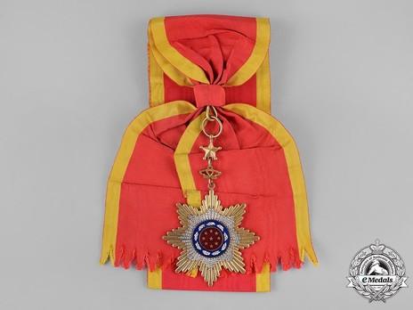 Order of United Glory, I Class Sash Badge Obverse