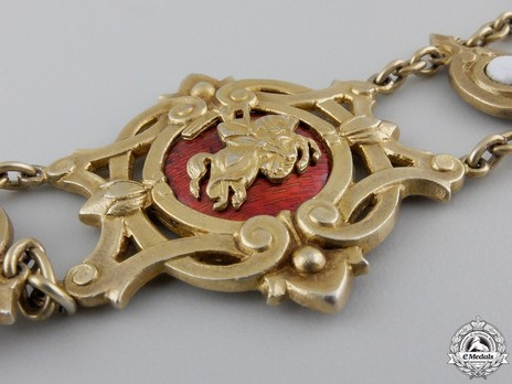 Gold Collar (in silver gilt) Obverse Detail
