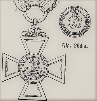 Military Order of St. George, III Class Knight Obverse and Reverse