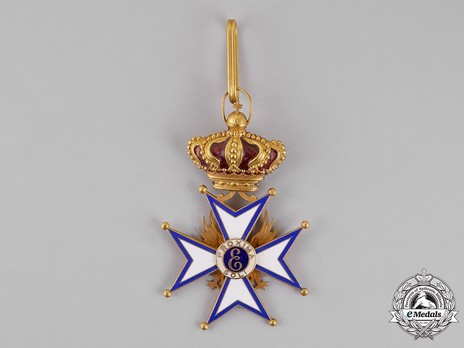 Grand Cross, Foreign Division (with crown) Reverse