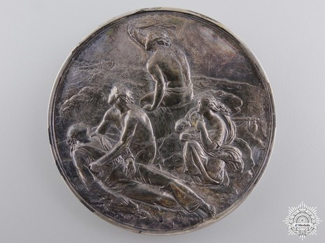 Silver Medal (for gallantry, 1854-1901) Reverse