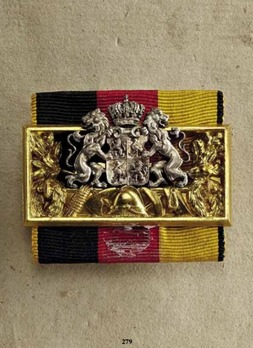 Decoration of Honour for Fire Service, Junior Line, in Silver