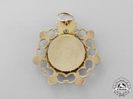 Order of the Pleiades (Nishan-i-Haft Paykar), I Class Reverse
