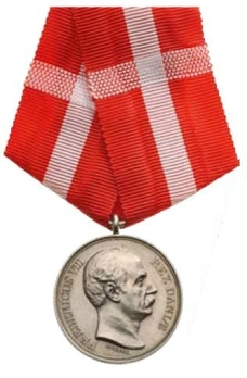 """Silver Medal (without crown stamped """"LINDAHL"""") Obverse"""