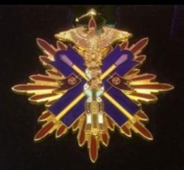 Order of the Golden Kite, I Class Sash Badge