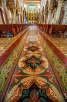 15347302 interior de la catedral en barichara colombia