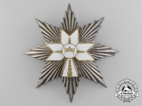 I Class Grand Officer Breast Star Obverse