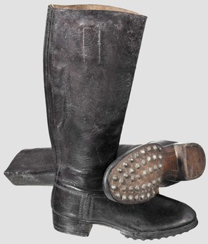 Luftwaffe Marching Boots Obverse & Sole