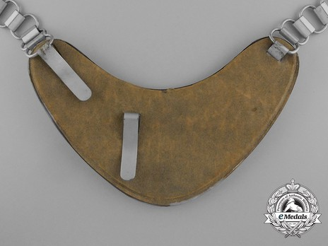 German Army Field Police Gorget Reverse