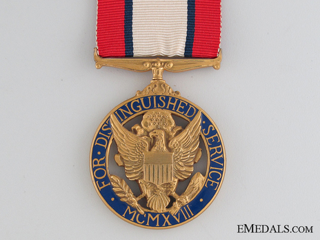 Army Distinguished Service Medal Obverse