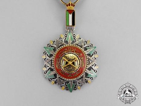 Supreme Order of the Renaissance (Wisam Al Ordani Al Nahda), IV Class Officer Obverse