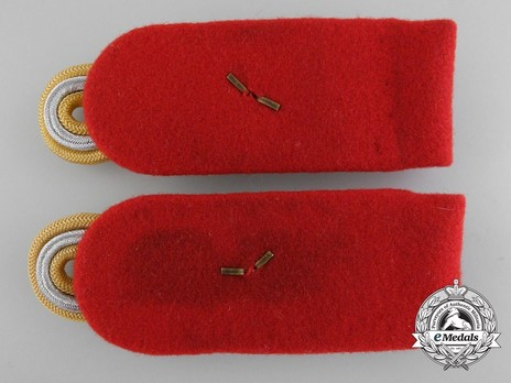 German Army Generalleutnant Shoulder Boards Reverse