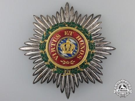 Merit Order of the Bavarian Crown, Grand Cross Breast Star Obverse
