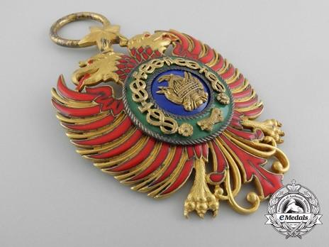 Order of Skanderbeg, Type I, Grand Cross Obverse