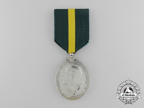 Silver Medal (with King Edward VII effigy) Obverse