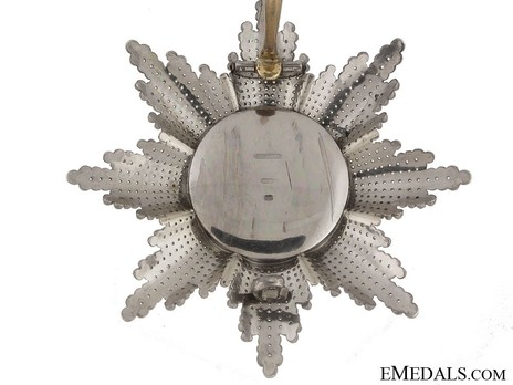 Breast Star (1810-1918) (by Rothe) Reverse