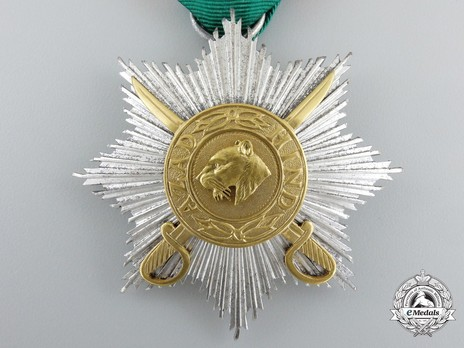II Class Star with Swords Obverse