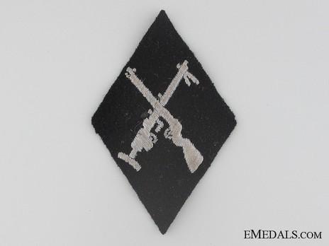 SS-VT Armorer NCO/EM Trade Insignia Reverse