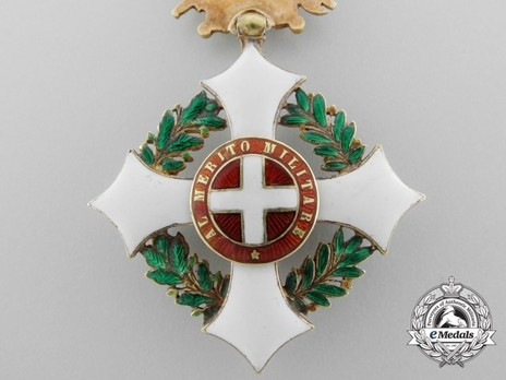 Military Order of Savoy, Type II, Officer Obverse