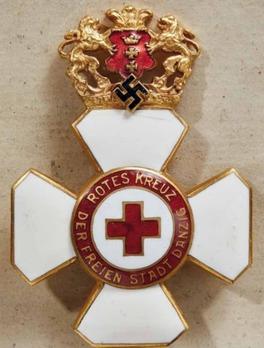 Red Cross Merit Cross, II Class Obverse