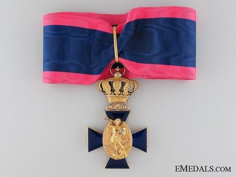 Royal Order of Merit of St. Michael, II Class Cross (1837-1918) Obverse