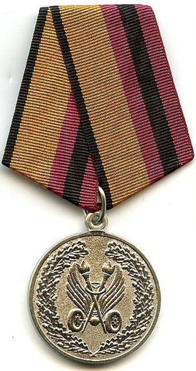 Medal for diligence in ensuring road safety