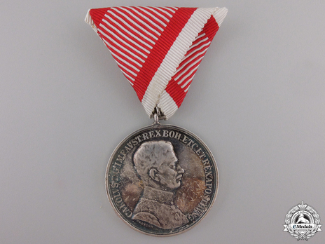 Type IX, I Class Silver Medal Obverse