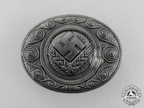 RADwJ Tradition Badge (in silvered feinzinc) Obverse