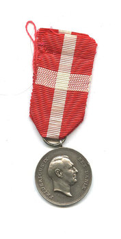 Silver Medal Obverse without crown