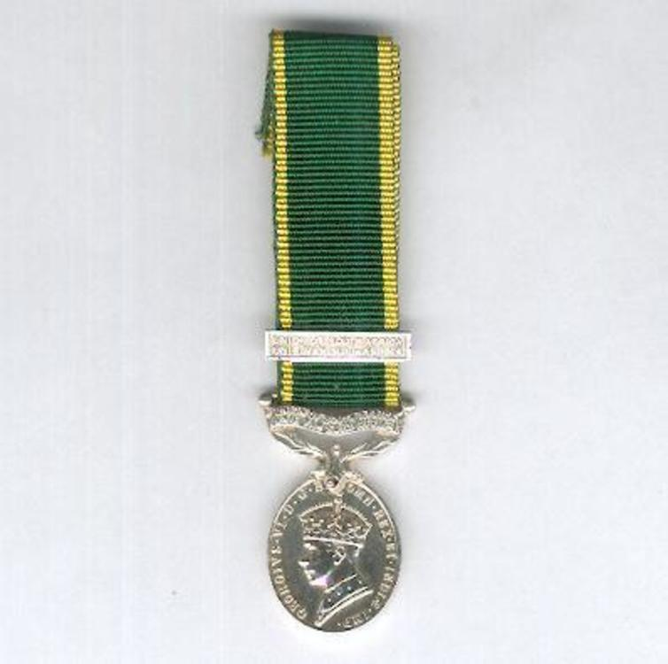 Miniature silver medal obv s2