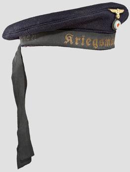 Kriegsmarine Blue Sailor's Cap Profile