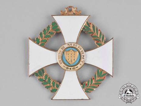 Order of St Agatha, Grand Cross Reverse
