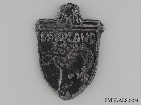 Lappland Shield (in metal) Obverse