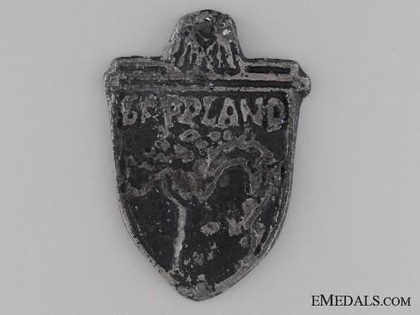 Lappland Shield (in metal) Obverse