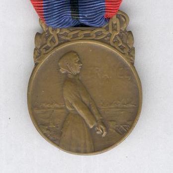 "Bronze Medal (stamped ""P. DAUTEL"") Obverse"