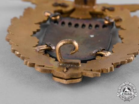 Felix Graf von Luckner Badge Reverse Detail