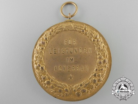 State Farmers' Group Rhineland Badges, Merit Badge for Agriculture Reverse